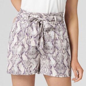 NWOT 🤍 Ever New Snakeskin Shorts